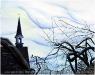 Le clocher veille sur notre solitude